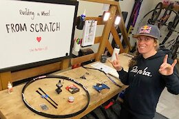 Video: Jill Kintner's First Time Building A Wheel