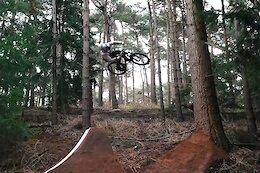 Video: Matt Jones Builds & Rides a Huge Tree Gap