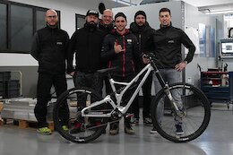 Production Privee Sponsors The Brigade Team for 2021 with New Downhill Bike