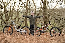 Saracen Teams Up With Current British Downhill Series Champion Becci Skelton