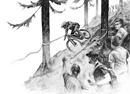 A Mountain Biker's Illustrated Thoughts in 'Daydreaming'
