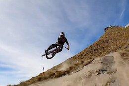 Video: Sam Blenkinsop Kicks Up Dust on a Fast Lap Down Coronet Peak