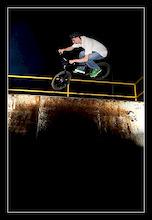 Little jump on ramp  http://bodzio.fotolog.pl/