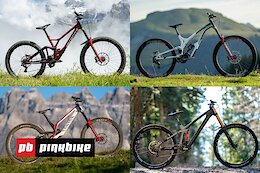 Review: Canyon Sender vs Specialized Demo vs Cube Two15 vs Commencal Supreme - DH Bike Week