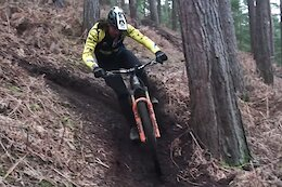 Video: Wyn Masters Carves Through UK Winter Loam on his eMTB