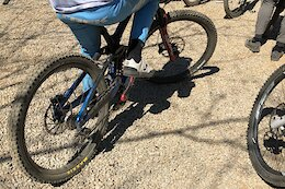 Spotted: Trek High Pivot DH Prototype (Yes, It Still Looks Like a Session)