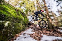 Video: Michal Prokop Says Goodbye to Winter as he Gets out for a Rapid Shred on his eMTB