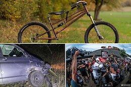 Slack Randoms: UCI Takes 'No Pleasure' in Hugging Ban, Adult Strider Bikes & Rachel Atherton's Car Crash