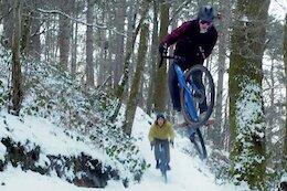 Video: Shredding Gravel Bikes in the Snow