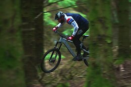 Video: Rob Warner Rides the New Red Tech Trail at Bike Park Wales