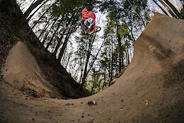 Must Watch: Kriss Kyle Brings his BMX Wizardry to a Custom MTB Course