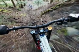 Video: Vinny T Shreds Steep & Loamy Trails