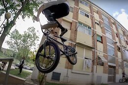 Video: Mind-Bending Street Tricks with BMX Pro Kevin Peraza in Barcelona