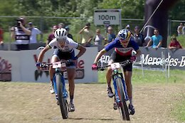 Video: 7 of the Best Sprint Finishes from XC World Cups