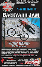 John Henry's Backyard Jam this Saturday May 8th