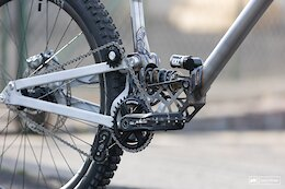 Trinity MTB Debuts With a Steel, High Pivot, Gearbox Compatible Freeride Bike