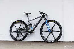 Comparing Anne Terpstra & Nadine Rieder's Ghost Lector FS Race Bikes - Albstadt XC World Cup 2021