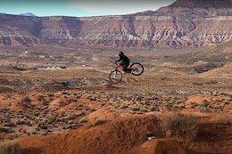 Video: Getting Loose & Overshooting Jumps in the Desert