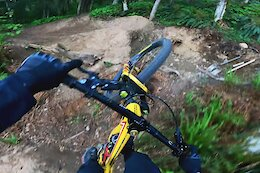 Video: Reece Wallace's Raw POV as he Shreds a Hand Built Jump Trail