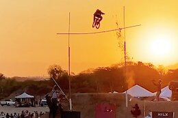Video: Wil White Claims Unofficial Mountain Bike High Jump Record