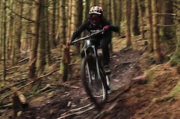 Video: A 1 Minute Blast of Katy Winton Shredding Her Steep, Loamy, Local Trails