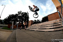 Tailwhip over double set.