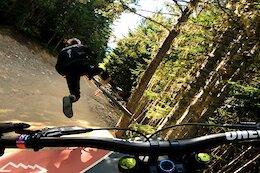 Video: Chris Kovarik & Remy Metailler Rip Whistler Bike Park Blue Trails