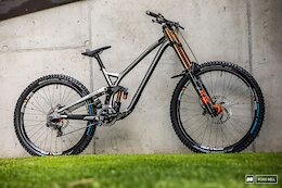 Bike Check: Amaury Pierron's Prototype Commencal Supreme - Leogang World Cup DH 2021
