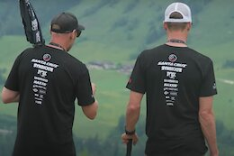 Video: Track Walk with the Santa Cruz Syndicate - Leogang World Cup DH 2021