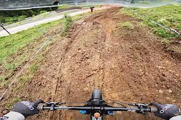 Video: POV Runs from Thibaut Daprela & Luca Shaw from the Leogang World Cup Downhill Track