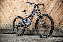 Bike Check: Alex Marin's Production Privée Prototype Downhill Bike - Leogang World Cup DH 2021