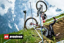 Video: 19 Crashes In Glorious Slow Motion From The Leogang World Cup DH 2021
