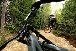 Video: Remy Metailler Shreds Whistler Bike Park with 13-Year-Old Mateo Quist