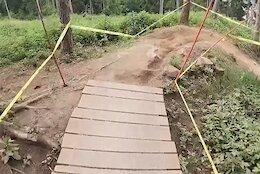 Video: Sam Blenkinsop's POV Run from the Crankworx Innsbruck Downhill Track