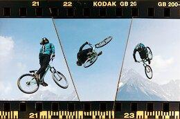 Photo Story: Peter Kaiser's Film Photography from the Crankworx Innsbruck Slopestyle