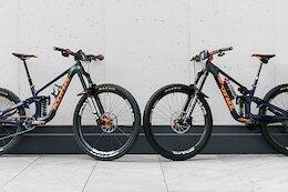Comparing Miranda Miller & Connor Fearon's Kona Process X Race Bikes - EWS Val di Fassa 2021