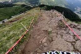 Video: Jack Moir's Winning POV from Stage 4 at EWS Val di Fassa 2021 Race 1