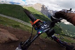 Video: Jesse Melamed's POV from Stage 4 at EWS Val di Fassa 2021 Race 2