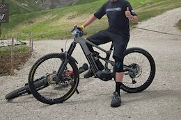 Spotted: Nukeproof eMTB - Mixed Wheels & A Motor