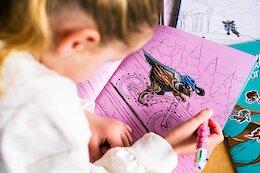 Shotgun Launch 'Shred Til Bed' Activity Book for MTB Kids