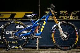 Bike Check: Noga Korem's GT Fury - Les Gets DH World Cup 2021