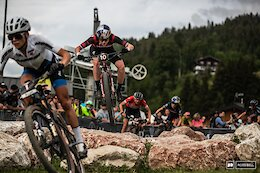 Short Track Photo Epic: Going in Circles. - Les Gets XC World Cup 2021