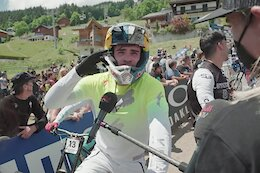 Video: Qualifying Recap from the Les Gets DH World Cup 2021