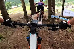 Video: Emily Batty & Laurie Arsenault Preview the 2021 Les Gets XC World Cup Course