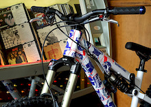 Transition Bikes and  Pabst Blue Ribbon Beer limited edition BottleRocket