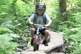 Throwback Thursday: Jackson Goldstone's Run Bike to Kindergarten