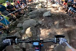 Video: Jesse Melamed's POV from the Pro Stage at EWS La Thuile 2021 Race 2
