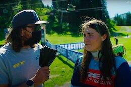 Video: Wyn TV from EWS La Thuile 2021 Race 2