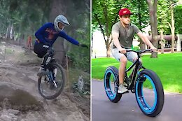 Slack Randoms: Riding Val di Sole on a Unicycle, A Hubless Fatbike & More