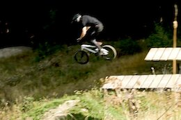 Video: Bike Park Sends on a BMX